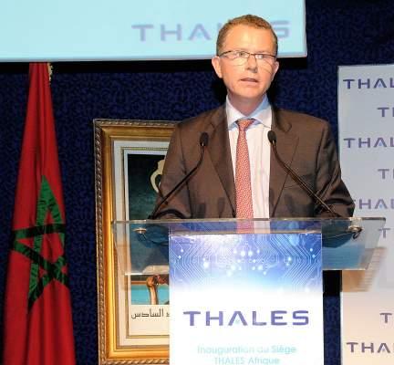 """Photo of مجموعة """"طاليس"""" للدفاع والأمن والفضاء تختار الرباط لاحتضان مقرها الإقليمي"""