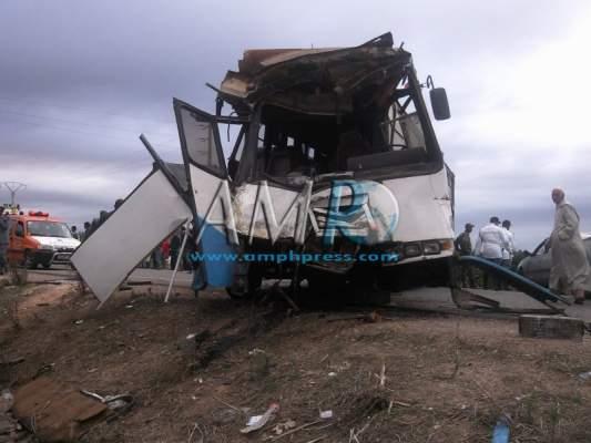Photo of سطات: 44 جريحا منهم أطفال ونساء في حادث اصطدام حافلتين للركاب