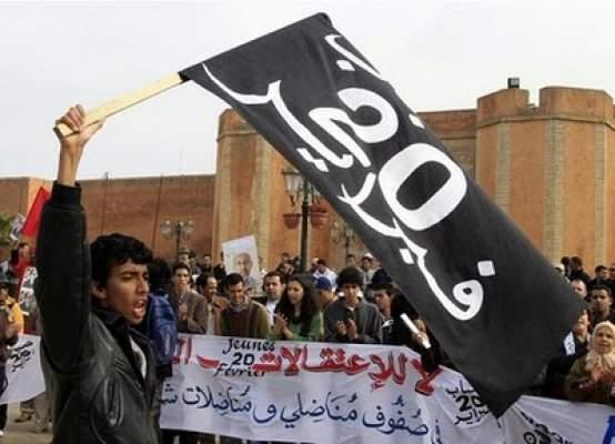 كريم القنبوحي من العدل والإحسان يهدد بقتل مخالف للرأي داخل 20 فبراير بالعرائش