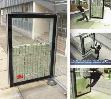 Photo of طريقة أمريكية فريدة في الإشهار: مليون دولار لمن يستطيع كسر الزجاج