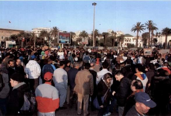 Photo of celebration manquee de l'anniversaire du mouvement 20 fevrier a casablanca, ou la fin d'une mesaventure, depuis son debut etrangere au peuple