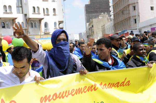 "Photo of الأمازيغ يخلدون ""الربيع الأمازيغي"" بمسيرة تودا بالدار البيضاء"