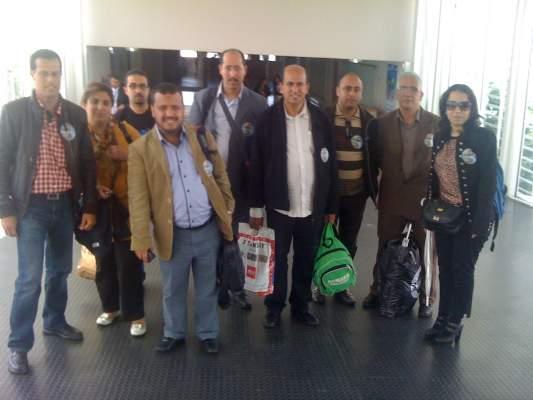 Photo of اللجنة الشبابية المغربية لدعم الشعب السوري: عودة القيادات الشبابية المغربية من الحدود التركية السورية إلى المغرب