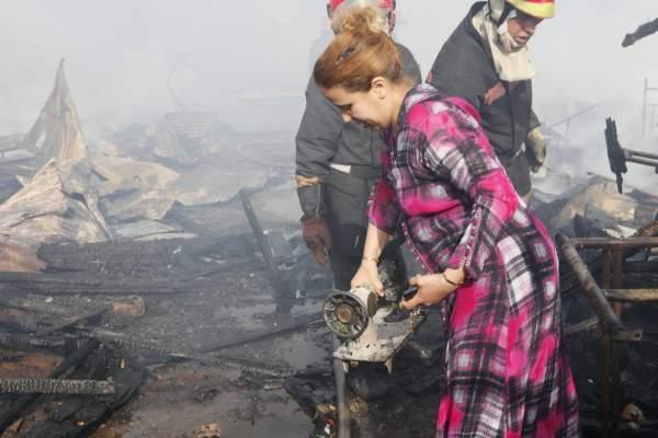 Photo of الدار البيضاء بالصور: حريق يلتهم 160 محلا تجاريا بسوق إفريقيا