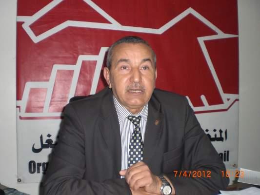Photo of علي لطفي الكاتب العام للمنظمة الديمقراطية للشغل لأكورا: المغاربة ليسوا بحاجة إلى الإعلان عن اللوائح بل بحاجة إلى استرجاع أموالهم