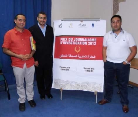 """Photo of منظمة """"فري بريس"""": لائحة الصحافيين الفائزين بجائزة أفضل تحقيق بسنة 2012"""