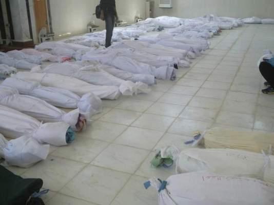 "Photo of شريط صور: مجزرة ""حولة"" السورية… 90 قتيل أغلبهم أطفال"