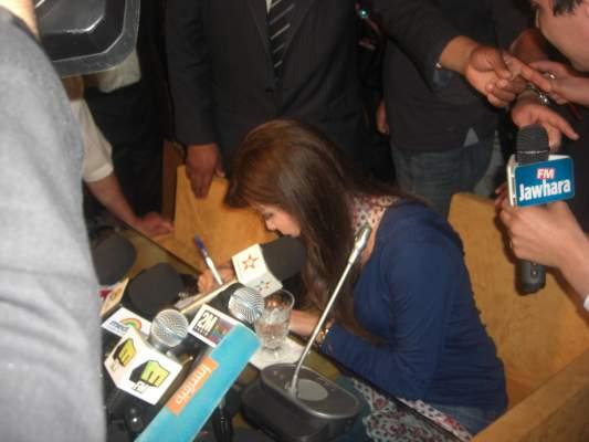 """Photo of في ندوة صحافية لها ضمن فعاليات مهرجان """"موازين"""": نانسي عجرم لا تريد الحديث عن السياسة"""