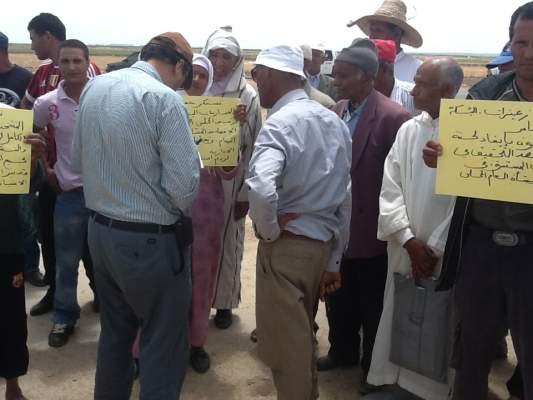 """Photo of ساكنة جماعة """"المكرن"""" تنظم سلسلة وقفات احتجاجية وتطالب بتحقيق جملة من المطالب الحياتية البسيطة"""