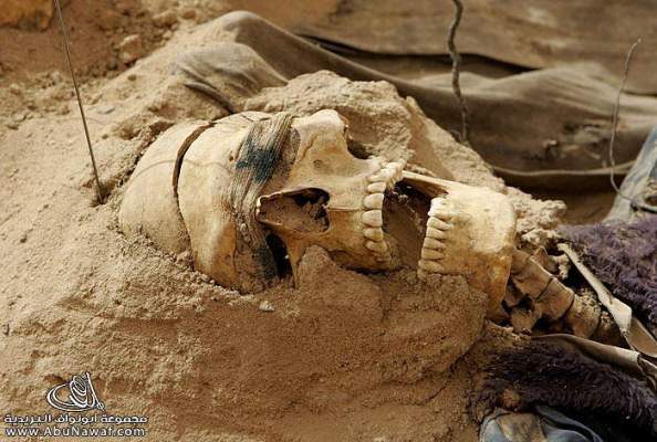 Photo of ابن جرير: العثور على بقايا جمجمة وعظام جسم إنسان تحت أحد البيوت بحي إفريقيا