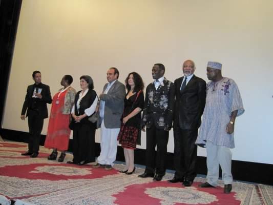"Photo of بالصور: مهرجان السينما الإفريقية بخريبكة يُفتتح على إيقاع تكريم المخرجين ""سيساكو"" و""مبالا"""