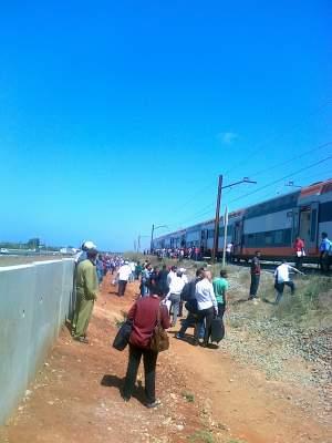 "Photo of بالصور: ساعتين من ""الخلعة"" ""والروطار"" في قطار من قطارات ""الخليع"""