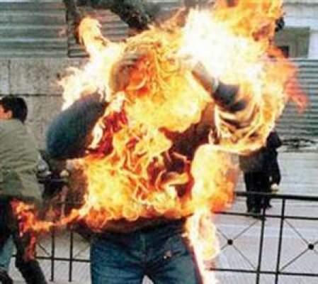 Photo of يبلغ من العمر 26 سنة: مختل عقليا يضرم النار في جسده بأكادير