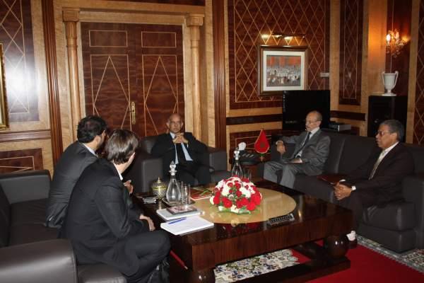 Photo of بيد الله يستقبل المدير التنفيذي للائتلاف الدولي لمناهضة عقوبة الإعدام