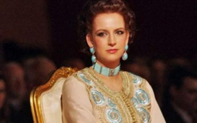 """Photo of الأميرة للا سلمى تحضر حفل زفاف الدوق الأكبر ولي عهد اللوكسمبورغ والكونتيسة """"ستيفاني دو لانوي"""""""