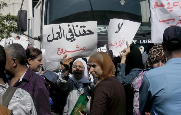 "Photo of عمال مصنع العلكة (المسكة) بالدار البيضاء: ""شي بغا يخدم شي معتصم..فكها يامن علكتها"""