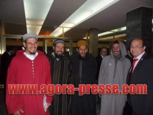 "Photo of بالصور: أعضاء من ما يُعرف بتيار ""السلفية الجهادية"" حضروا أمسية تأبين ""ماما آسية"""
