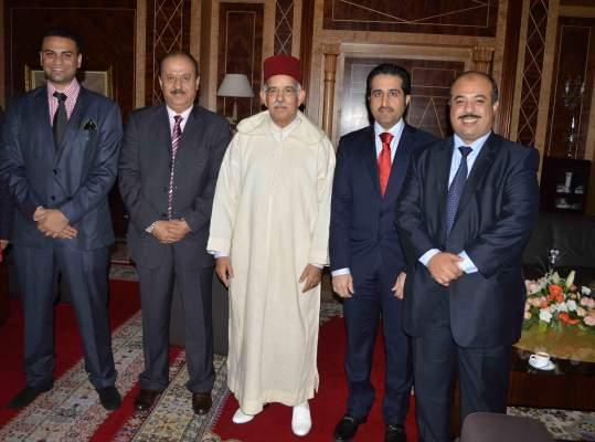 Photo of رئيس مجلس المستشارين يلتقي بوفد عن إتحاد غرف التعاون الخليجي