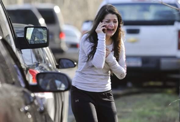 "Photo of عاجل: آخر حصيلة لمجزرة المدرسة الابتدائية ""نيوتاون"": 30 قتيلا من بينهم أطفال"