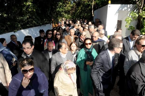 """Photo of بالصور: تشييع جثامين أفراد عائلة فريد برادة ضحايا طائرتهم الخاصة بمقبرة """"الرحمة"""" بالدار البيضاء"""