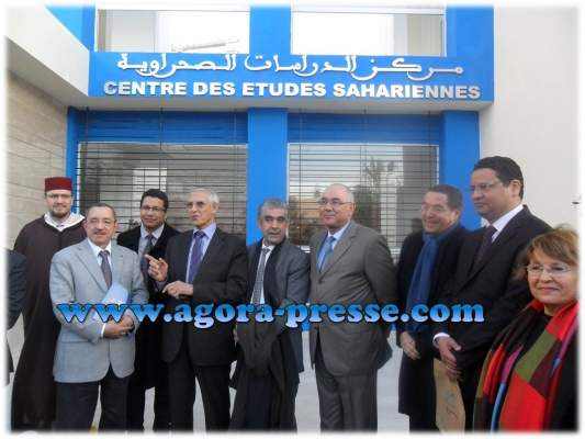 Photo of بالفيديو والصور لحسن الداودي والشرقي اضريس في افتتاح مركز الدارسات الصحراوية