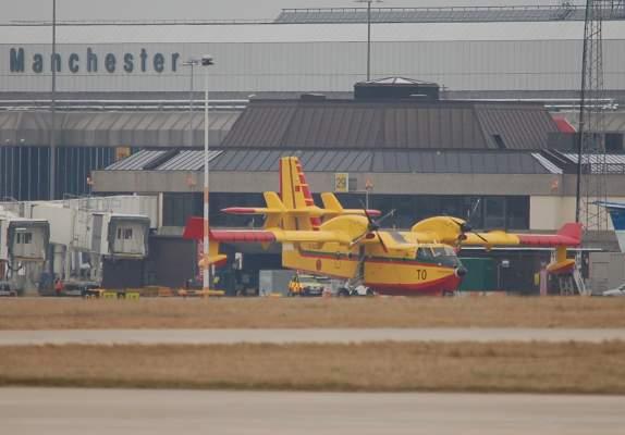 Photo of قادمة من مانشستر، المغرب يستلم ثالث طائرة لمحاربة الحرائق في انتظار الرابعة