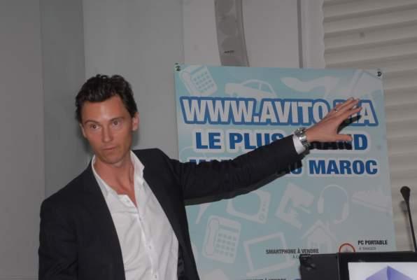 "Photo of جوناس نوغلاندغ، أحد مؤسسي موقع avito.ma لـ""أكورا""   انطلاقتنا بالمغرب جد واعدة"