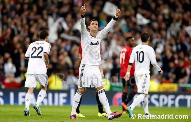 Photo of رونالدو ينتزع التعادل لريال مدريد أمام مانشستر الشجاع