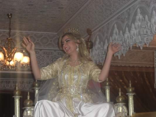 Photo of ألبوم صور وفيديو: ملكة جمال العرب في ضيافة أسرة بيضاوية