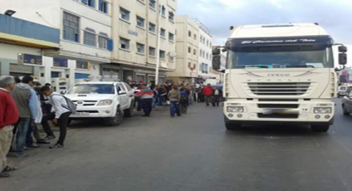 Photo of شاحنة تدهس شابا بالناظور وتتسبب في بتر رجله