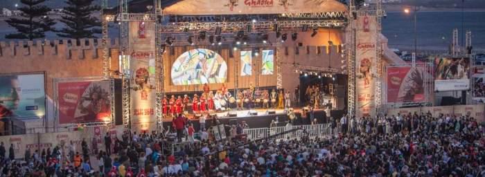 Photo of الدورة 16 من مهرجان كناوة: أزيد من 40 حفلا موسيقيا وتكريم 3 معلمين كناويين رحلوا هذه السنة