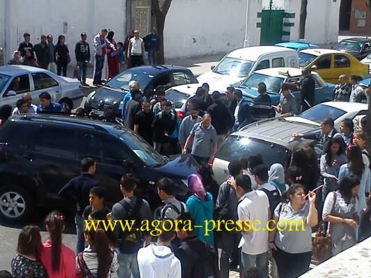 Photo of بالصور: حادثة سير بين ثلاث سيارات بتطوان
