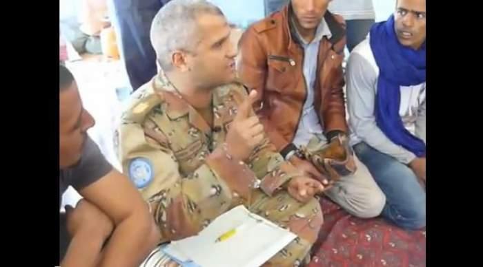 Photo of فيديو: أين حياد المينورسو بالصحراء المغربية؟..عنصر المينورسو يحرض البوليساريو على القتال