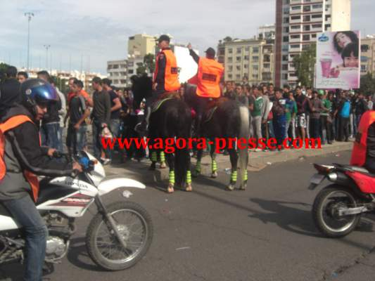 Photo of استنفار أمني بالدار البيضاء بسبب الديربي