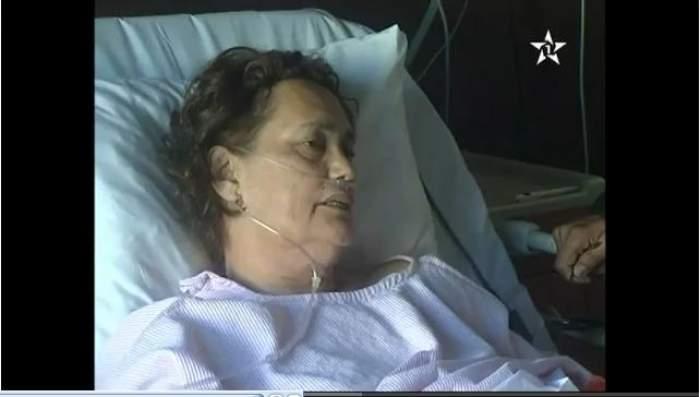 Photo of بالفيديو: الممثلة المغربية نعيمة بوحمالة بالمصحة