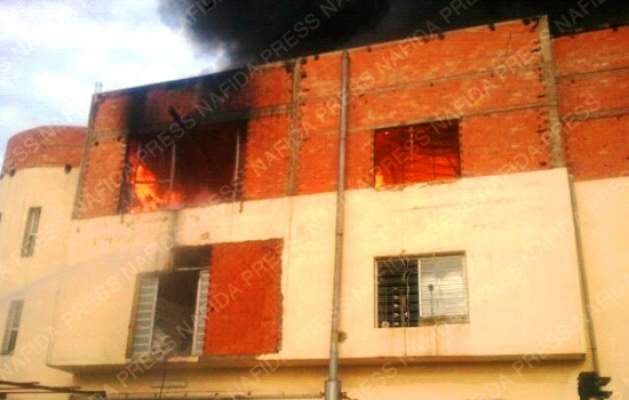 Photo of لعنة الحرائق تتواصل: النيران تلتهم مصنعا للنسيج بطنجة