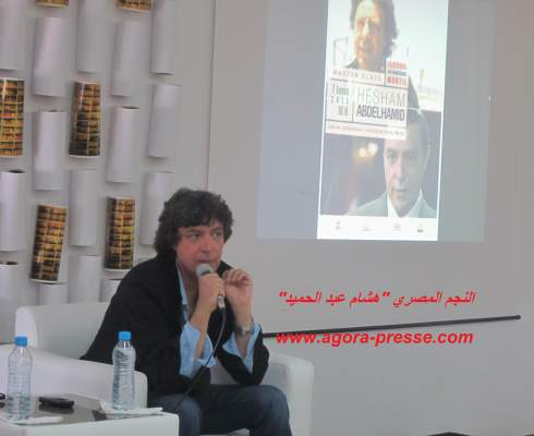 "Photo of النجم المصري هشام عبد الحميد في حوار صريح مع ""أكورا بريس"