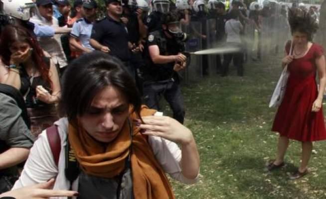 Photo of إصابة مغربية في المظاهرات التي تعرفها تركيا