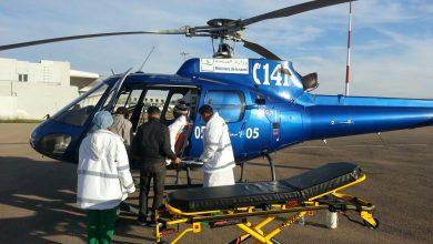 Photo of المروحية الطبية لوزارة الصحة تنقذ شابا تعرض لانسداد بالشرايين بالجهة الشرقية