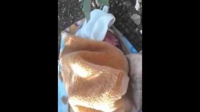 Photo of شاهد الرضيع الذي تم التخلي عنه بحي الخربة بطنجة