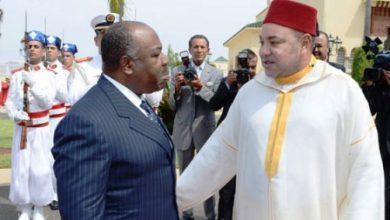 Photo of الرئيس الغابوني يستقبل وزير الداخلية المغربي حصاد بحضور المنصوري والحموشي
