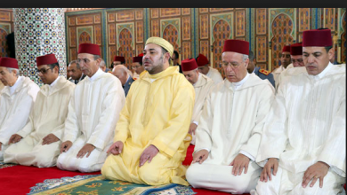 Photo of الملك محمد السادس يؤدي صلاة الجمعة بمسجد الشيخ سيف بالرباط