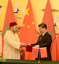 Photo of الملك محمد السادس والرئيس الصيني يوقعان الإعلان المشترك المتعلق بإرساء شراكة استراتيجية بين البلدين