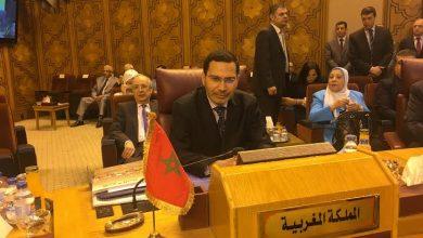 Photo of كلمة مصطفى الخلفي في اجتماع الدورة 47 لمجلس وزراء الإعلام العرب