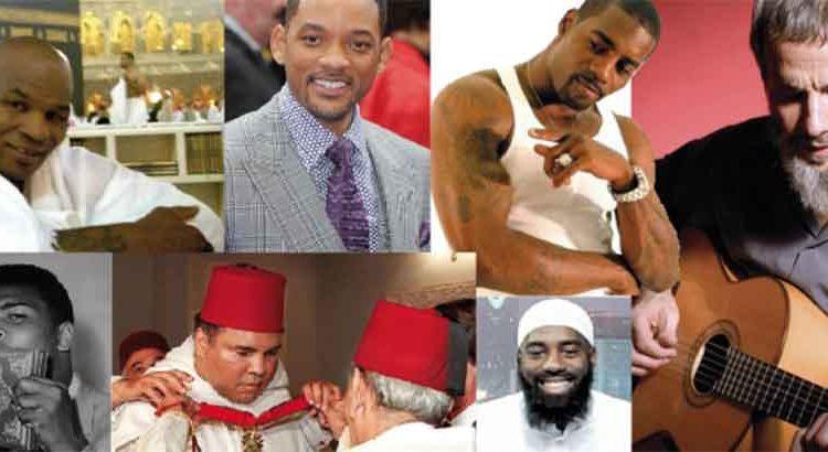 مشاهير اعتنقوا الإسلام في السنوات الأخيرة