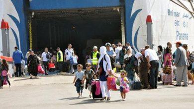 Photo of أزيد من 18 ألفا من أفراد الجالية حلوا بالمغرب عبر بوابة طنجة المتوسط