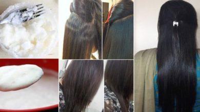 Photo of وصفة طبيعية قوية وفعالة لترطيب الشعر