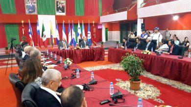 Photo of بيان العيون ينوه بجهود المغرب في مجال إقرار الديمقراطية والسلم ونبذ العنف والكراهية