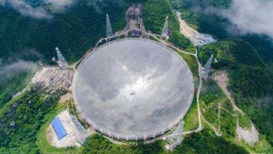 """Photo of الصين تركب أكبر تلسكوب لاكتشاف """"مخلوقات الفضاء"""""""