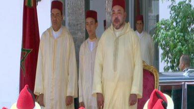 Photo of بمناسبة عيد العرش.. الملك محمد السادس يترأس بتطوان حفل استقبال